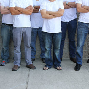 Men Standing Against Human Trafficking